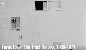 Lewis Baltz, The Tract Houses, 1969-1971